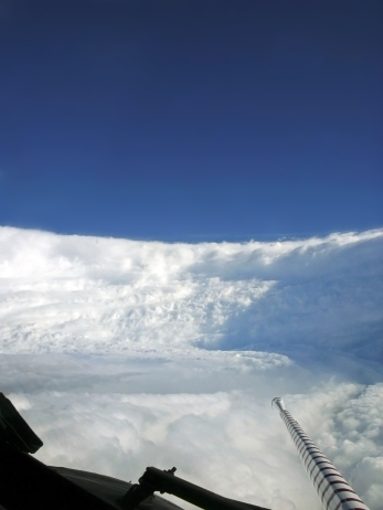 http://en.wikipedia.org/wiki/File:Hurricane_Katrina_Eye_viewed_from_Hurricane_Hunter.jpg