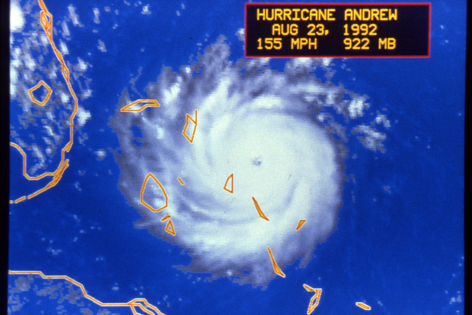 The Re-analysis of Hurricane Andrew (1992) - PowerPoint PPT Presentation